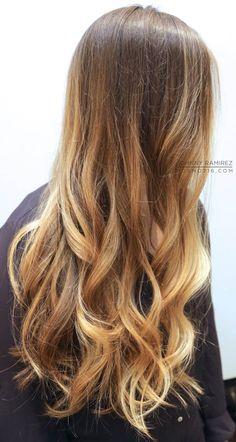 Mechas Ombré Hair e californianas: 75 fotos para inspirar!