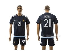 http://www.xjersey.com/argentina-21-pastore-away-2016-copa-america-centenario-soccer-jersey.html ARGENTINA 21 PASTORE AWAY 2016 COPA AMERICA CENTENARIO SOCCER JERSEY Only $35.00 , Free Shipping!
