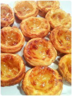 Cherie Kelly's Portugese Egg Custard Tarts (Pasteis de Nada) 葡撻