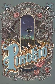 Pinokio Komiks (twarda) - Winshluss [KSIĄŻKA] za jedyne 93.24 zł - dvdmax.pl
