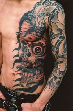Chest Tattoo Ideas for Men - http://sicktattoos.org/chest-tattoo-ideas-for-men/
