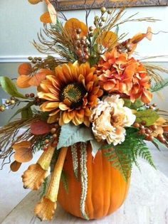 Fall / Autumn centerpiece