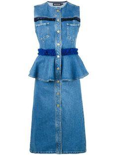 Shop House Of Holland frill denim dress.