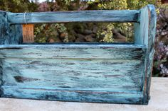 Great as a garden planter, magazine or newspaper holder or even tools!