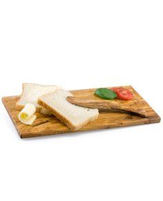 Set Brotzeit aus Olivenholz | treevoli
