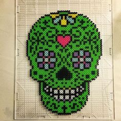 Instagram media by perlerbeadjake - Phew. This was kind of a pain, but I got it…