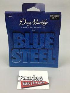 Dean Markley Blue Steel Series Bass Guitar Strings