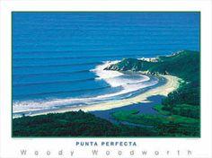 PUNTA PERFECTA Baja Peninsula Surfing Poster - Cabo San Lucas, Mexico Surf Print ~available at www.sportsposterwarehouse.com