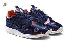 ZX 500 2.0 Rita Ladies (Rita Ora Collection) in Nightsky/Red by Adidas, 8.5 - Adidas sneakers for women (*Amazon Partner-Link)