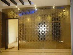 A-027, Light bronze Mirror Tiles, Bronze