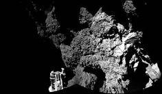 G.A.B.I.E.: El robot Philae rebotó a cámara lenta sobre el com...