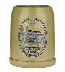 Beers of Europe | Andechs Pottery Stein (Grey Saltglaze) 0.5L