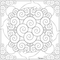 dolphin mandala animal mandala pictures to color mandala coloring pages pattern mandala free. Black Bedroom Furniture Sets. Home Design Ideas