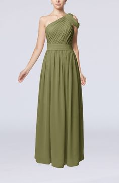 Romantic Asymmetric Neckline Sleeveless Zip up Chiffon Floor Length Mother of the Bride Dresses