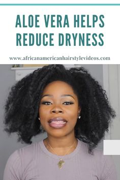 It's hardly the sexiest thing, bu we can all agree hand hair care have taken on a whole new allure over the last few years 4c Natural Hair, Natural Hair Growth, Natural Hair Styles, Aloe Vera For Hair, Hair Breakage, African American Hairstyles, Crazy Hair, Curly Girl