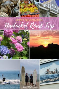 The best activities for a fall New England road trip to Nantucket. | What to do on Nantucket | Where to go Nantucket | Massachusetts | USA | East Coast Island Getaway | Fall in New England