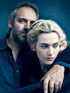 SAM MENDES and KATE WINSLET by Annie Leibovitz