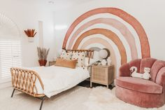 Big girl room makeover 💕 Our latest design project with might just be the cutest space we've ever seen! Shop the entire look at