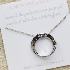 Quote Jewellery...Be brave pendant