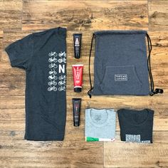 Giveaway time! We are teaming up with @dznuts and giving away custom Thread+Spoke cinch bags with 3 random T+S t-shirts, a random bottle of dznuts product, a mystery item, and other small custom products! Tag 3 friends and follow @dznuts for a chance to win! Winners will be randomly selected and notified 5-28! #ThreadandSpoke #Dznuts #Giveaway