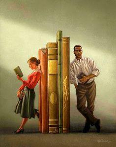 Reading and Art: Greg Newbold