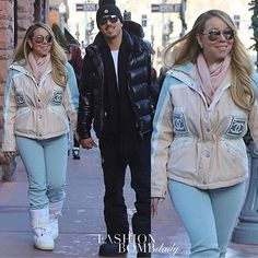 @mariahcarey stepped out in a @chanelofficial multicolor logo ski jacket and @Dior ski boots recently while spending quality time with @bryantanaka in #aspen. What do you think?#fashionbombdaily #fashion #style #instafashion #instastyle #celebritystyle #realstyle #mariahcarey #chanel - Celebrity #Fashion Style Culture Couture Advertising Culture #Beauty Editorial #Photography Magazines Supermodels Runway Models