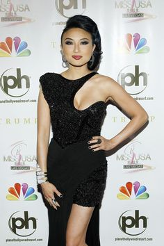 Jeannie Mai Photo - 2012 Miss USA Competition - Arrivals  LOVE THE NECKLINE