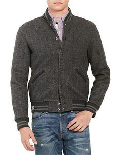 2670cb4e4c Polo Ralph Lauren Herringbone Fleece Baseball Jacket Ralph Lauren - Men -  Polo Ralph Lauren: The New Heritage - Bloomingdale's