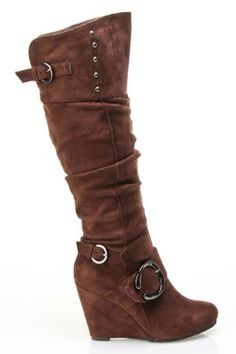 #Anais Boots in Brown