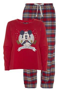 Primark - Mickey Mouse Christmas PJ Set