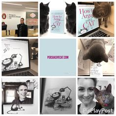 Happy New Year!  Im so sorry I havent posted much in 2017 but behind the scenes Ive been working very hard with @jayheinrichs on How To Argue With A Cat. If youd like to know more about our little book then please visit our website http://ift.tt/2E1R7yi - there are links to pre-order the book too . So if you fancy treating yourself or buying a gift for a cat-loving (or perhaps argumentative friend) please feel free!. Thank you so much to all those whove pre-ordered already - please do leave…
