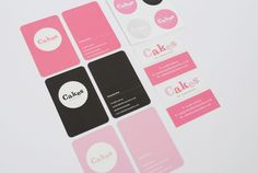 Duplex letterpress business cards 250 pinterest letterpresses high end cakery cakes by samantha was a small company in need of fresh brand and website design the approach of this branding is to create a cute reheart Gallery