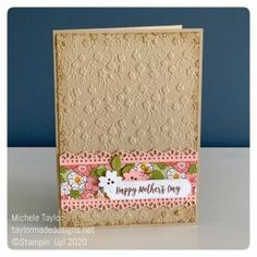 Introducing Ornate Garden - Taylor Made Designs Kiwi Lane Designs, Made Design, Stampin Up Catalog, Embossed Cards, Stamping Up Cards, Motif Floral, Fathers Day Cards, I Card, Card Kit