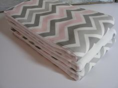 Diaper Burp Cloths - Pink and Gray Chevron with Gray Polka Dots   Set of 3 by MyRaggyObsession on Etsy https://www.etsy.com/listing/150855766/diaper-burp-cloths-pink-and-gray-chevron