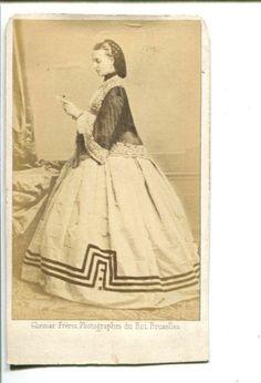 CDV Royalty Alexandra Princess of Wales by Ghemar 1860s CDV Photograph | eBay