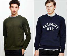 Sweatshirts | The Idle Man | Shop Now | #StyleMadeEasy