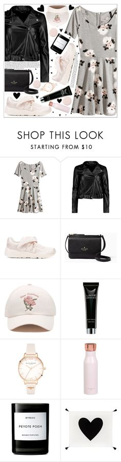 """""""style"""" by lena-volodivchyk ❤ liked on Polyvore featuring H&M, Boohoo, Puma, Kate Spade, Vans, Olivia Burton, Ted Baker, Byredo and PBteen"""