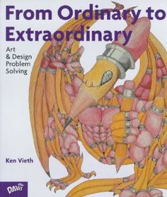 My favorite Art Lesson plans have come from this book! From Ordinary To Extraordinary: Art & Design Problem Solving by Ken Vieth Drawing Projects, Drawing Lessons, Art Lessons, Painting Lessons, Drawing Ideas, Middle School Art, Art School, School Ideas, High School Drawing
