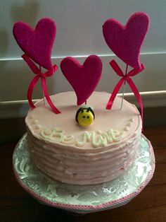 Valentine's Day themed Cake