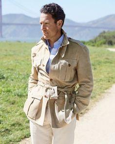 Norfolk Jacket, Military Fashion, Mens Fashion, Style Masculin, Adventure Outfit, Safari Jacket, Preppy Men, Stylish Jackets, Gentleman Style
