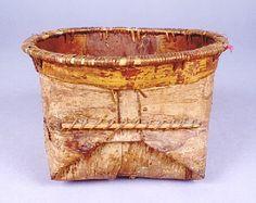 Alaskan Bark Basket