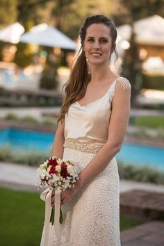 Novia Real. Vestido Josefina Obarrio para Novias al Garage. www.noviasalgarageonline.com