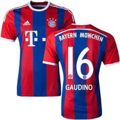 Gianluca Gaudino #16 Bayern Munich 15/16 Jersey