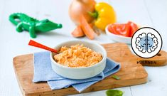 Baby Food Recipes, Plastic Cutting Board, Sushi, Breakfast, Ethnic Recipes, Barn, Mini, Recipes, Recipes For Baby Food
