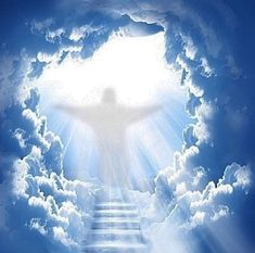 The heavens are telling, love the lord, gods love, pictures of christ, god pictures Heaven Painting, Jesus Painting, Heaven Pictures, God Pictures, Jesus Art, God Jesus, Heaven Wallpaper, Images Bible, Stairs To Heaven