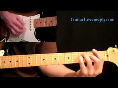 Led Zeppelin - Stairway to Heaven Guitar Lesson Pt.3 - Electric Guitar Rhythms - YouTube