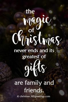 As the Christmas is fast approaching, let these inspirational Christmas quotes remind you the true spirit of Christmas. Christmas, as one of the most important occasions for many people especially for Christian, is a time for loving and giving. So this Christmas, be sure to inspire your loved ones...