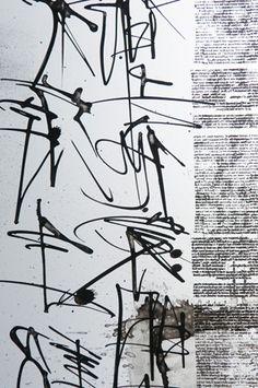 Brody Neuenschwander - Asemic Calligraphy