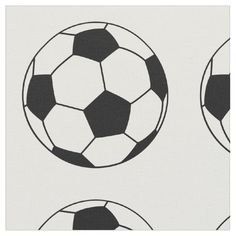 Sports Soccer Futbol Ball Player Fabric This soccer design product features a soccer ball. #Soccer #Sports #Athlete