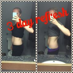 3 day refresh results - Sarah Koury | Mother, Wife, Fitness Coach